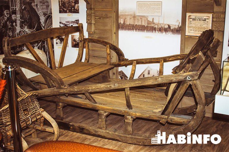 музей истории хабаровска экспозиции сани