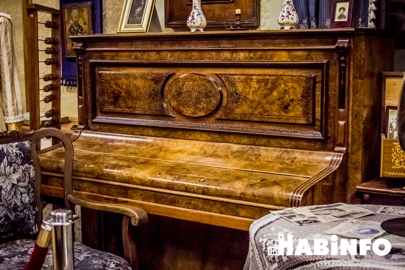 музей истории хабаровска экспозиции пианино