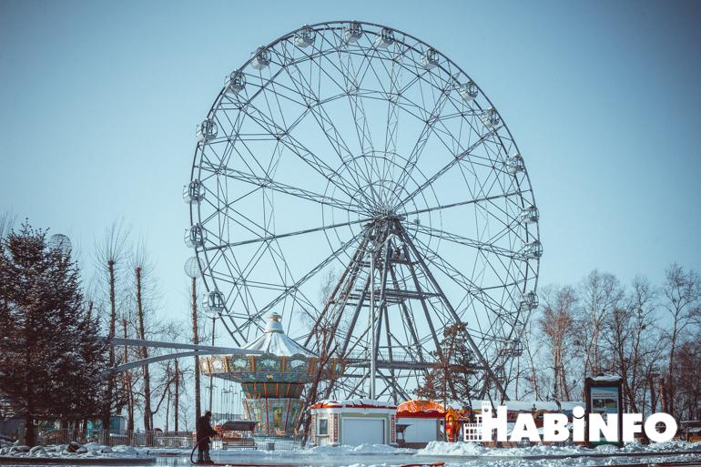 набережная хабаровска фото колесо обозрения