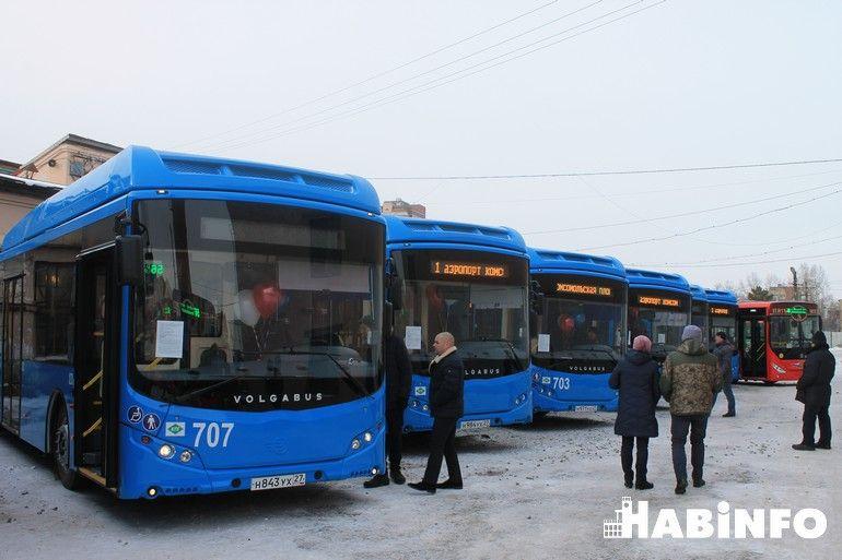 хабаровск новые автобусы фото волгабас
