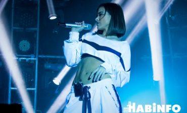 «Спасибо за белый снег»: Елена Темникова дала концерт в Хабаровске