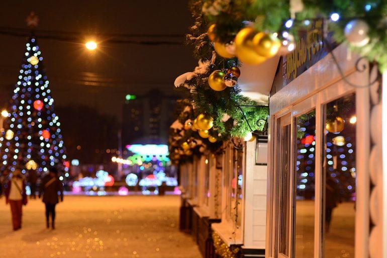 каком городе встретить новый год москва