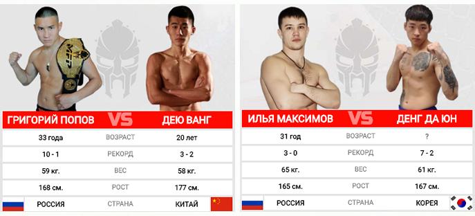 Бои без правил возвращаются в Хабаровск: турнир «Восточный рубеж»