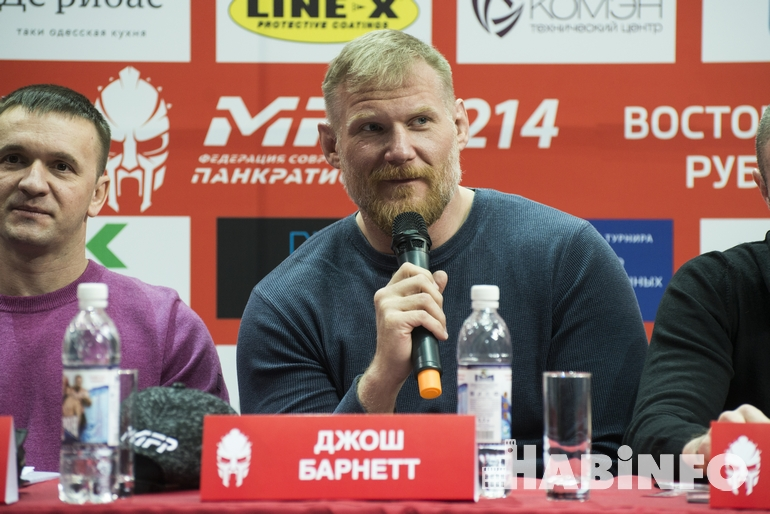 звезда UFC Джош Барнетт