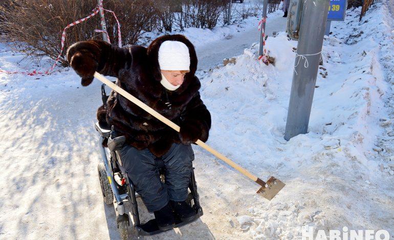 Новый путь прорубим: инвалиды вынуждены сами себе чистить улицы