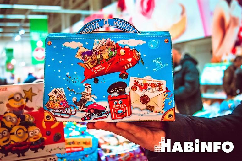 новогодние сладкие подарки хабаровск детские