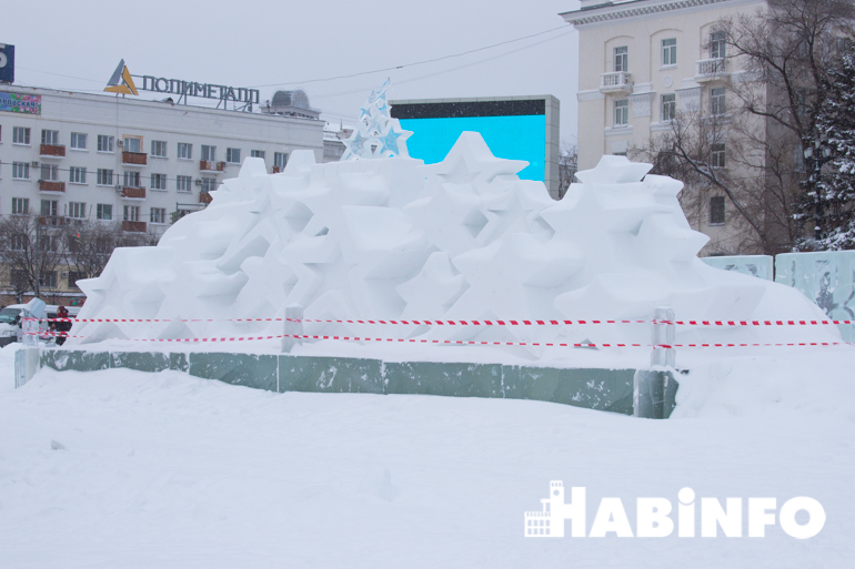 площади Ленина фотографии снежные