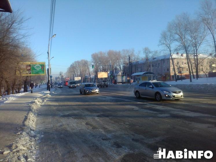 уборка снега суд дорожники Хабаровск