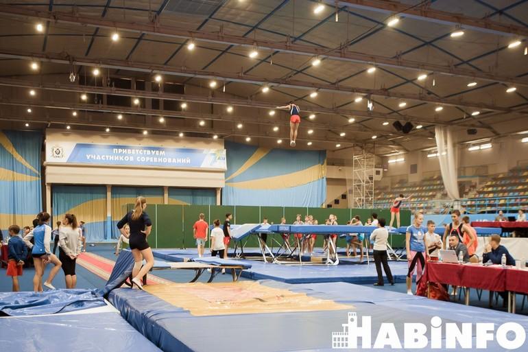 занятия спортивной гимнастикой для детей