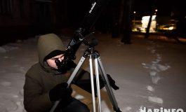 Вооруженным глазом: как выглядела «Кровавая Луна» через телескоп