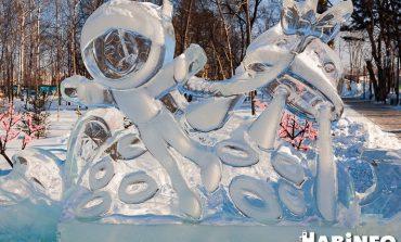 Зимняя прогулка по парку Гагарина: пришельцы из космоса и удобные фотозоны
