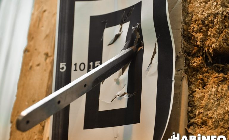 Хабаровские метатели ножей вышли на всероссийский уровень