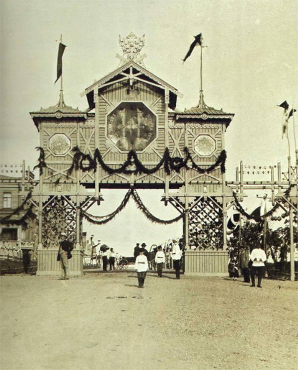 триумфальная арка хабаровск шевченко фото город