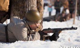 Хабаровские реконструкторы устроили перестрелку на Красной Речке