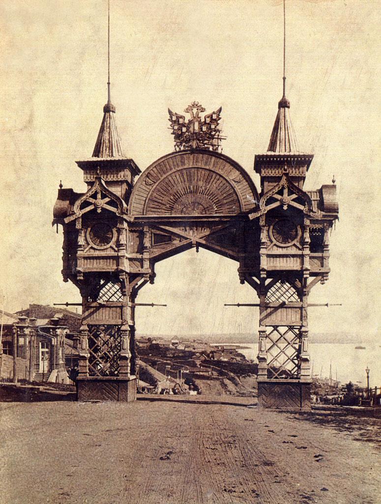 триумфальная арка хабаровск шевченко фото хабинфо