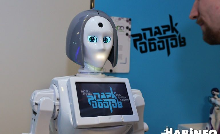 Парк роботов в Хабаровске: играй в танчики, погладь технопса, флиртуй с Кики