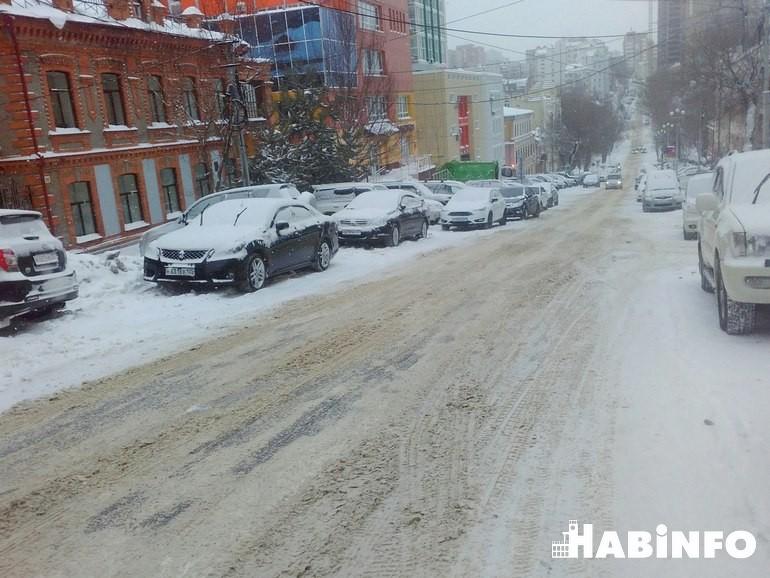 МУП Южное хабаровск дороги не чищены фото