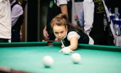 Честь Хабаровска на международном турнире по бильярду отстояла юная спортсменка