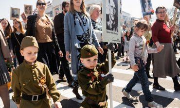 Рекордный полк: в «колонне памяти» на 9 мая прошли больше 60 тысяч человек