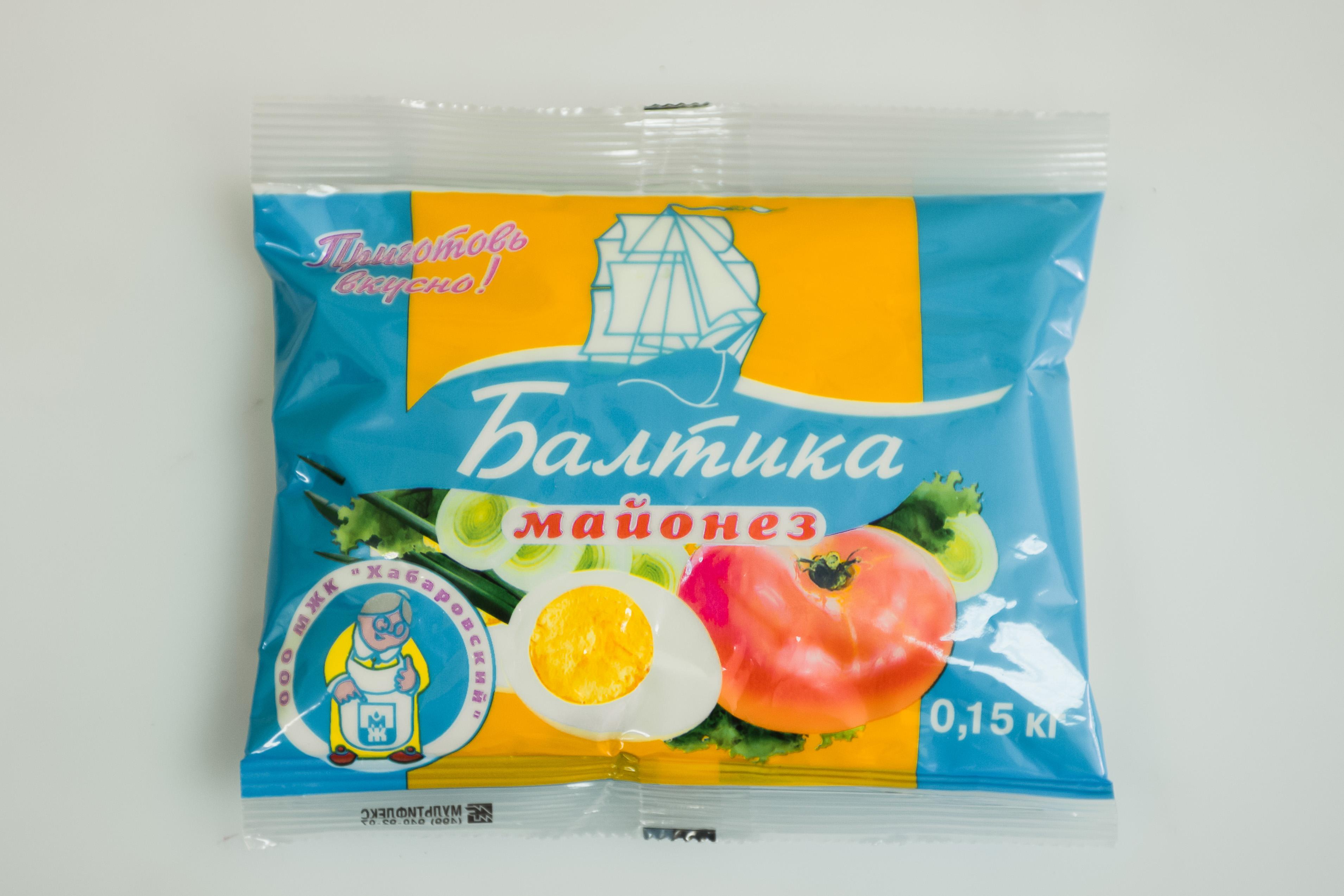 майонез хабаровск балтика легкий простой