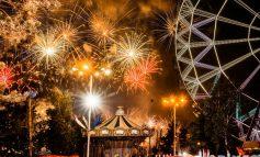 Тысячи залпов над Хабаровском: фото и видео праздничного фейерверка