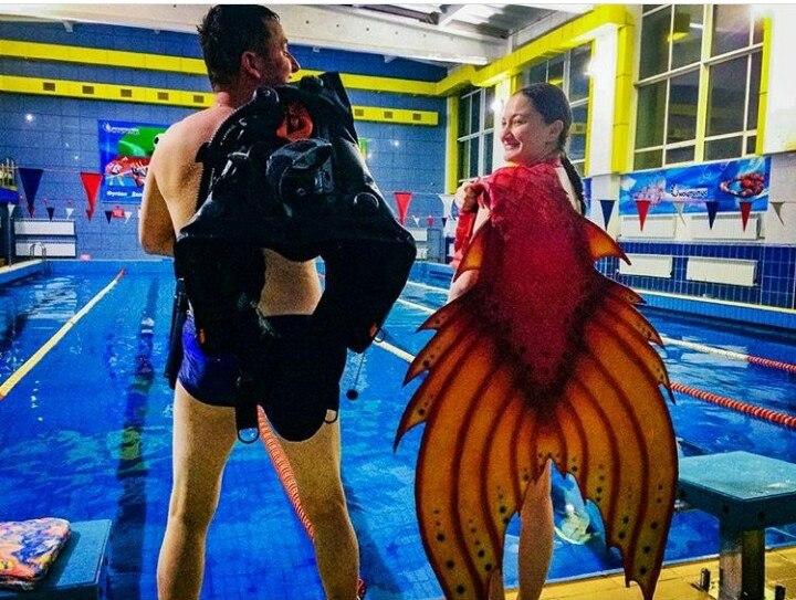 картинках хвостами русалочьего