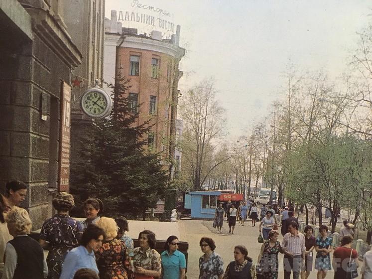Хабаровские «куранты» — самые известные часы краевого центра