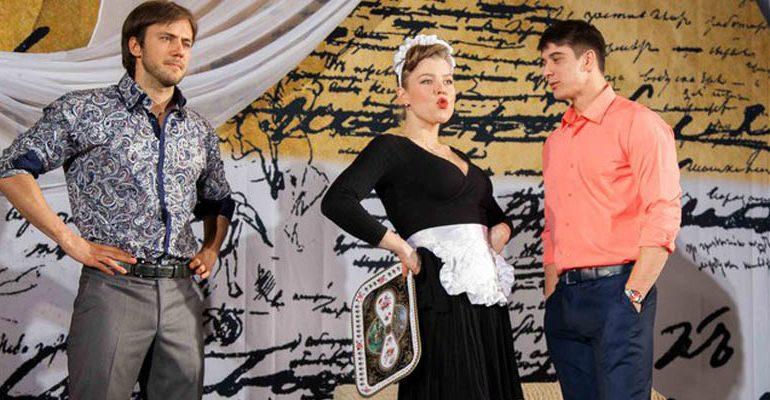 «Колесо фортуны» в Хабаровском театре драмы раскручивают звезды российских сериалов