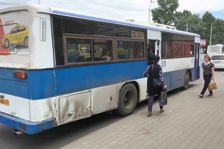 муниципальные автобусы