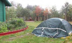 Зачем нужна палатка во дворе