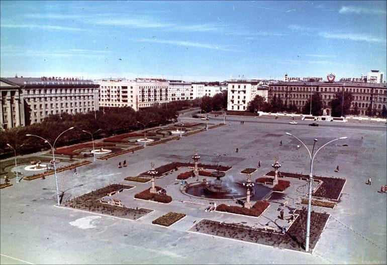 площадь ленина хабаровск история