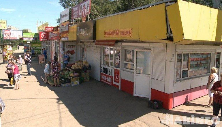 Предприниматели возмущены: их торговые павильоны мешают работе «Тепловых сетей»