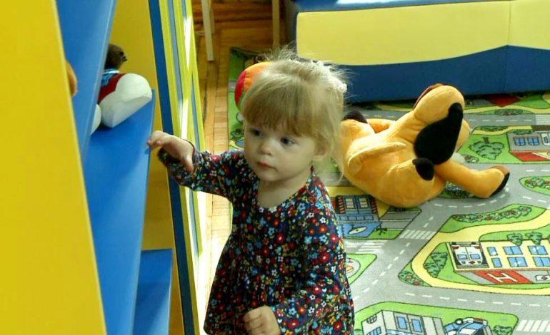 Зал для самых маленьких читателей открыли в библиотеке им. Н. Д. Наволочкина