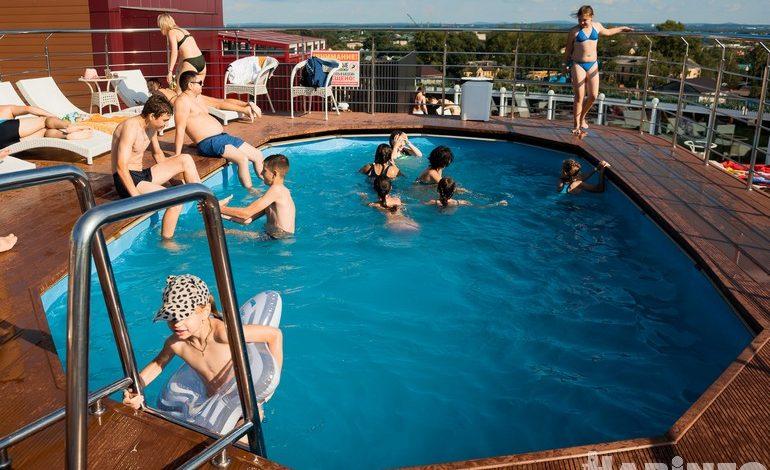 Дети в приоритете: кому отдыхать на крыше ТРЦ «Юбилейный»