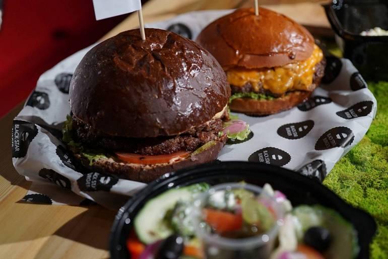 Black Star Burger франшиза