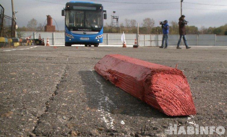 Кто круче: в Хабаровске прошел конкурс профмастерства среди водителей автобусов