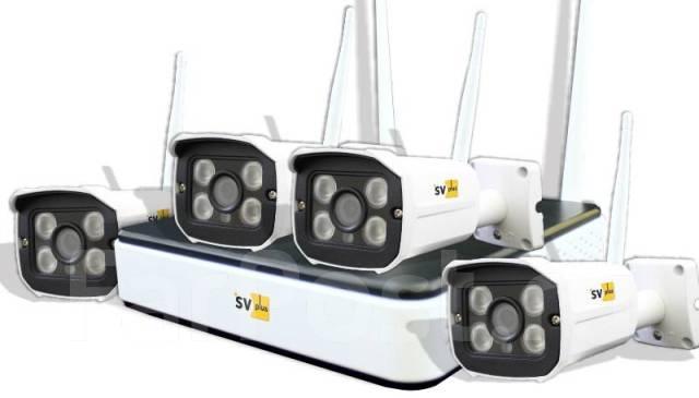 Starksystem рекомендует готовые комплекты видеонаблюдения SVIP-Kit304S
