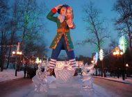 Как к Новому году «переодевают» хабаровского Гулливера