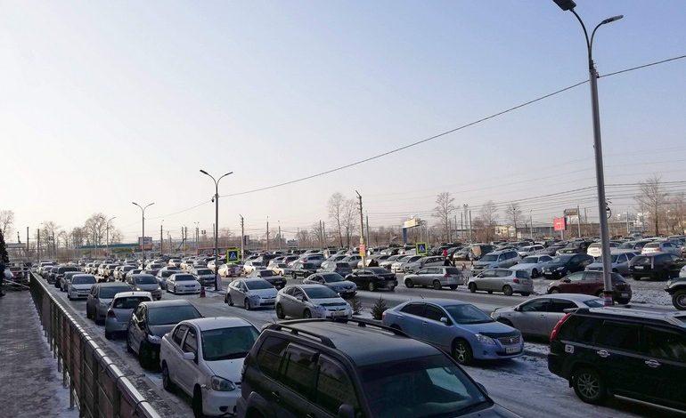 Хабаровск избавят от пробок за 10 миллиардов рублей