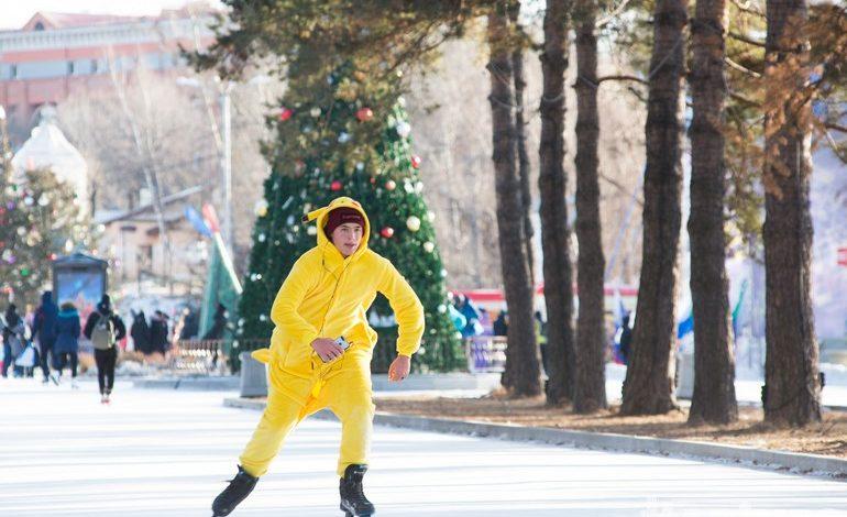 Встаём на лёд: где покататься на коньках в Хабаровске