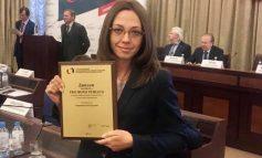 Хабаровского юриста Анну Оздровскую наградили в Администрации президента