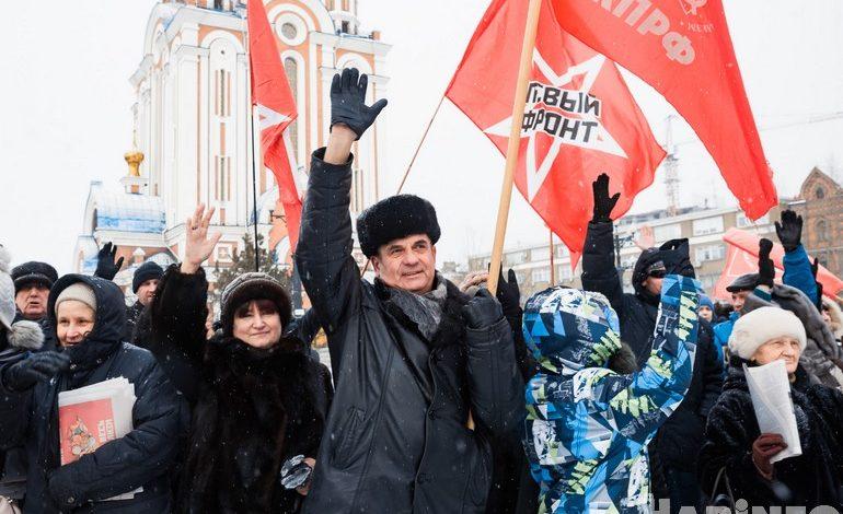 Давление масс: хабаровчане выступили против передачи Курил и соседства с ядерным могильником