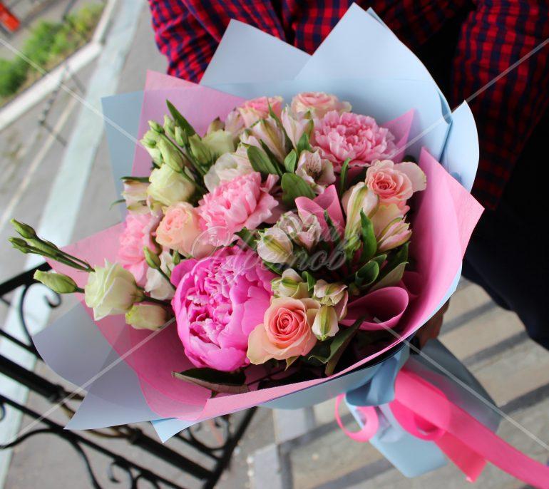 Доставка цветов хабаровск пионы