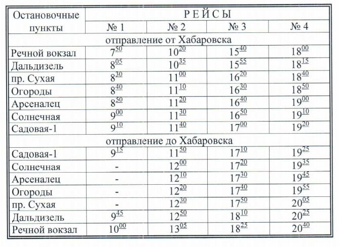 расписание дачных теплоходов хабаровск 2019 7
