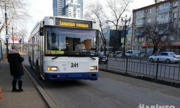 Общественный транспорт Хабаровска снова «колбасит»