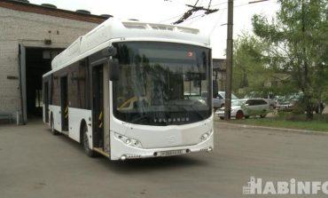 В Хабаровске появился первый электробус
