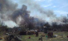 Борьба с огнём: на островах Дачный и Кабельный выгорело больше половины дач