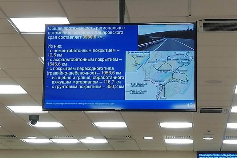 дороги города хабаровска 1
