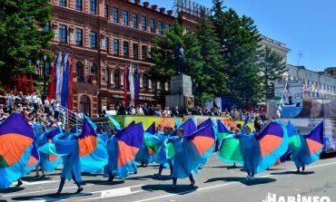 День города в Хабаровске: мультик, музыкальный салют и перекрытые дороги