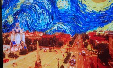 «Комната Ван Гога»: в Хабаровске открылась выставка «живых» картин